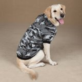 Casual Canine Cotton Camo Dog Hoodie, Small, Pink