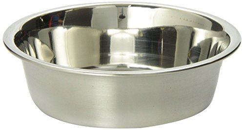 Bergan Stainless Steel Bowl, Heavy Duty Non-Skid, 2 Cup