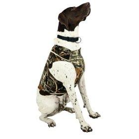 Team Realtree Dog Chest Protector – XL Camo