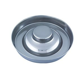QT Dog Puppy Stainless Steel Saucer, 11″