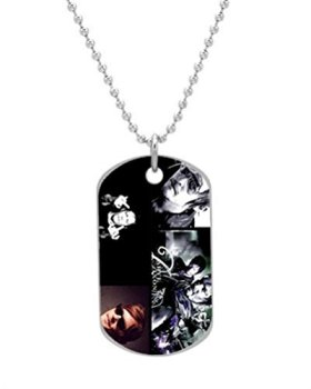 Daryl Dixon Custom Unique image (one side) BIG-Size oval Dog Pet Tag 1.3 x 2.2 inches,best gift