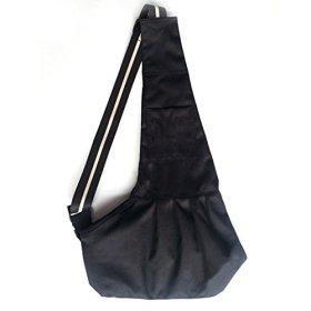 Shimie Oxford Cloth Sling Pet Dog Cat Carrier Tote Single Shoulder Bag,Black,Medium