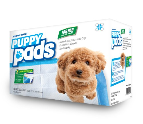 Mednet Direct 30″ x 36″ XX-Large Puppy Pads – 100 Count