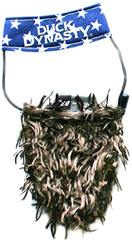 Duck Dynasty DD800400 Hat and Beard Willie for Pets, Small/Medium