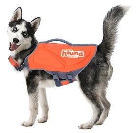 Outward Hound 22025 Pup Saver Neoprene Dog Life Jacket, Medium, Orange
