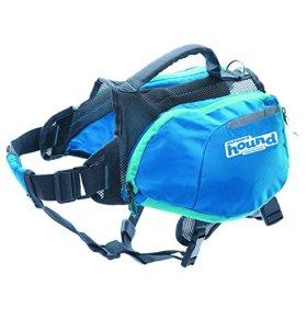 Outward Hound 22003 DayPak Dog Backpack Adjustable Saddlebag Style Dog Accessory, Medium, Blue