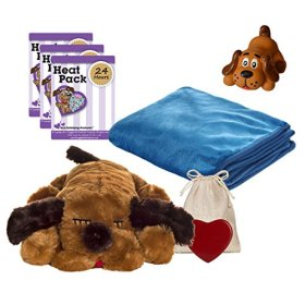 Snuggle Pet Products Snuggle Puppies Starter Kit for Pets, Brown Mutt