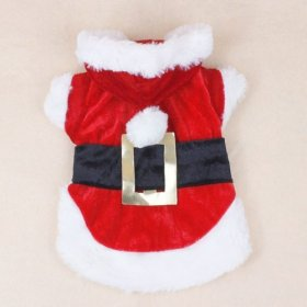 Colorfulhouse Christmas Dog Clothes Santa Dog Costumes Pet Apparel New Design (M)
