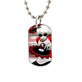 Homestuck MS Paint Adventuresl Fashion Image Custom Unique Personalized Dog Tag Necklaces, dogtag size About 1.3X 2.2 inches Ideal Gift