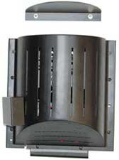 Akoma Heat-N-Breeze Dog House Heater and Fan Black 10″ x 10″ x 4.5″