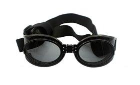 Namsan Dog UV Protection Goggles Sunglasses Pet waterproof Sun Glasses – Black, Large