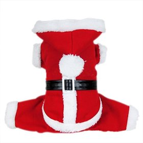 Dogloveit Santa Christmas Costumes Pet Dog Cat Xmas Outfit for Pet Dogs, Large