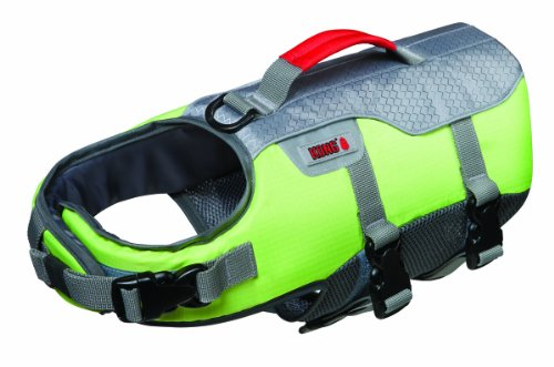 Future Sports Products International KONG SPORT Aqua Float Flotation Vest for Dogs, X-Large, Green