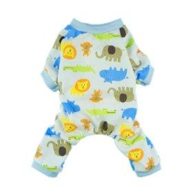Fitwarm® Cute Lion Dog Pajamas Dog Jumpsuit Dog Clothes Soft Dog Shirt, Large