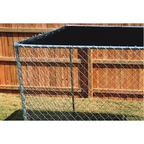 """Dog Kennel Shade Cover Green 5'8""""x10′"""