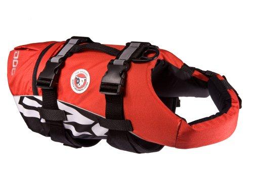 EzyDog Doggy Flotation Device (DFD), Extra Large, Red