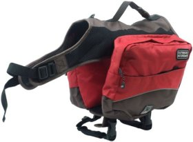 Outward Hound Kyjen   Excursion Dog Backpack, Large, Red Clay and Java