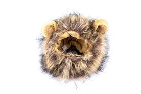 Mimibox Pet Costume Lion Mane Wig Dress up with Ears Dog/Cat Hats for Halloween Christmas Festival Party Fancy Dress Pet Clothes