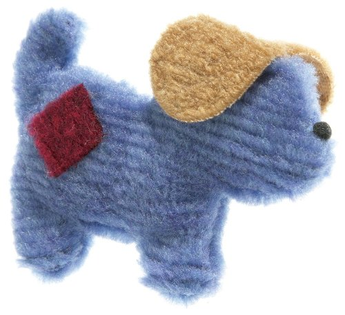 West Paw Design Puppy Pooch Squeak Toy for Dogs, Sky
