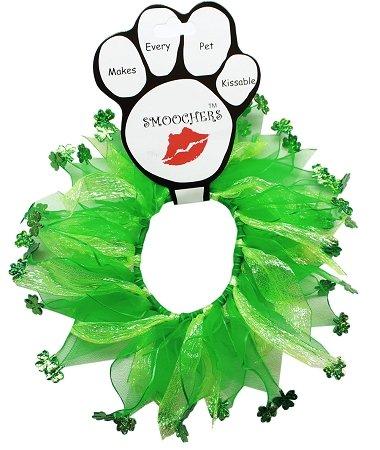 Pet Dog Cat Fun Festive St. Patrick's Day Smoochers