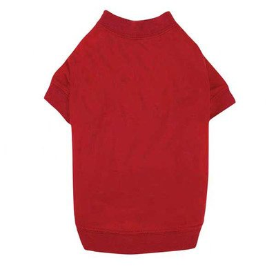Zack & Zoey Basic Tee, Medium, Red