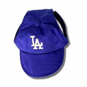Sporty K9 Los Angeles Dodgers Dog Cap, Small