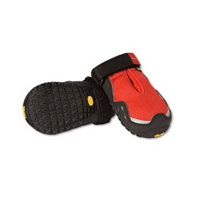 Ruffwear Grip Trex Boots for Dogs, 2.5-Inch, Red Currant