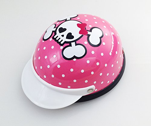 Helmet for Biker Dogs, Cats and Small Pets, Costume, Pet Accessory – Cutie Skull