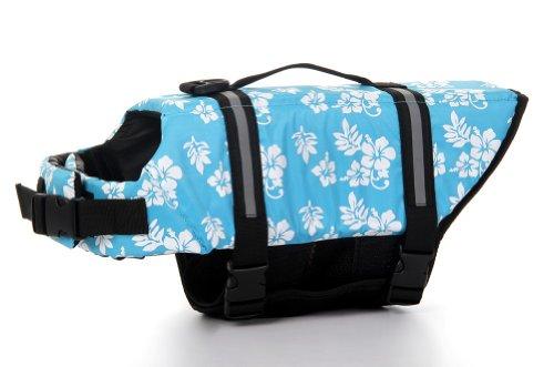 Lovely Baby Cute Pet Apparel Dog Lifejackets Safety Life Vest YC-D-LJ4001-BR-M