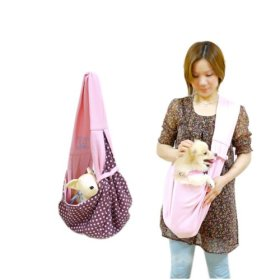 Travel Outdoor Pet Doggy Puppy Cat Sling Carrier Pouch Travel Bag