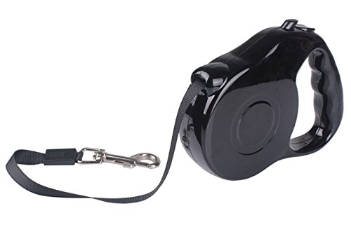 Extending Dog Leash by Vanko's. Puppy Retractable Walking Leads 3M for Small Puppy Dogs. Easy walking for your pets!