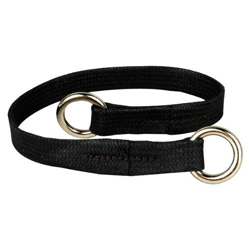 Resco Professional Dog Choke Collar, 3/8-Inch Wide x 14 Inches Long, Black