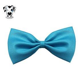 Sankuwen® Pet Tie Bow, Fashion Cute Dog & Puppy Cat Bow Tie Necktie Clothes (Blue)