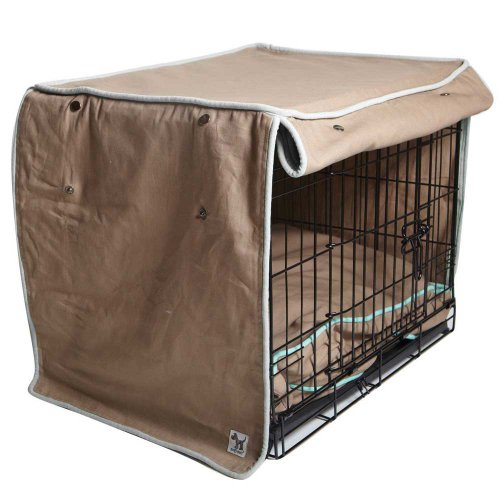 molly mutt wild horses crate cover, medium