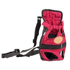 Cue Cue Pet Modernized Travel Red Pet Carrier Backpack (Medium)
