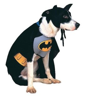 Rubies Costume DC Heroes and Villains Collection Pet Costume, Classic Batman, Small