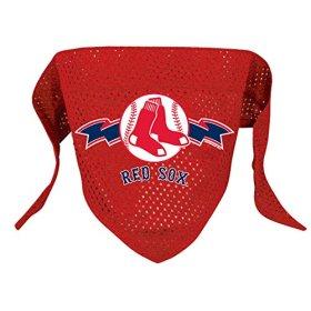 Hunter MFG Boston Red Sox Mesh Dog Bandana, Large