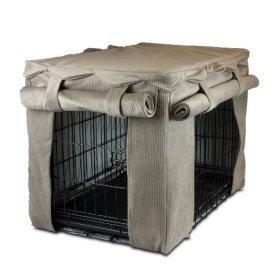 Snoozer Cabana Pet Crate Cover, Large, Toro Cocoa/Buckskin