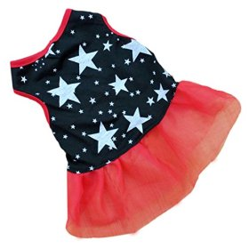 HP95(TM) Hot!Pet Dog Puppy Tutu Princess Dress Dot Lace Skirt Party Costume Apparel (XS)