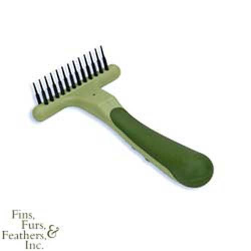 Coastal Pet Products DCPW6122 Safari Double Row Undercoat Dog Rake