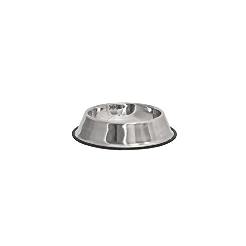 ALEKO® LPB1513S Small Stainless Steel Pet Dog Cat Puppy Food Bowl