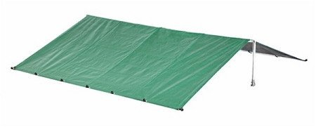 ALEKO® 10×10 Pet Kennel Waterproof Roof Cover Dog Kennel Roof Replacement Green Color