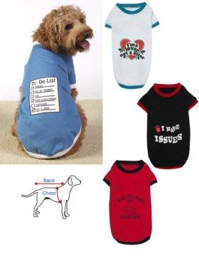 Funny Dog T-Shirts – Set Of 4 Large