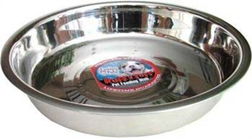 Loving Pets Puppy Pan Dog Bowl, 10-Inch