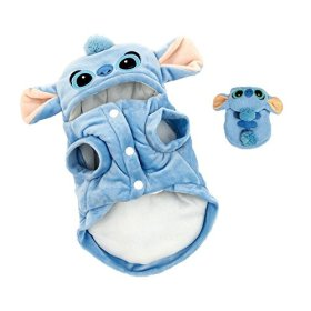 Zjskin Cartoon Pet Custume Coat Winter Clothes Cold Weather Coats for Small Dogs