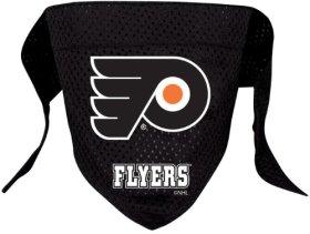 NHL Philadelphia Flyers Pet Bandana, Team Color, Large