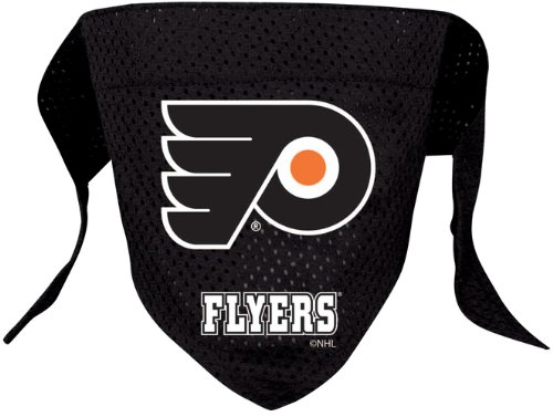 NHL Philadelphia Flyers Pet Bandana, Team Color, Large
