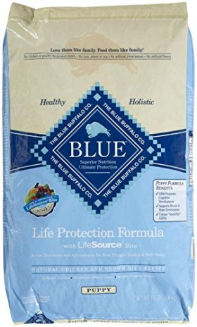 Blue Buffalo BLUE Puppy Chicken & Brown Rice 15 lb