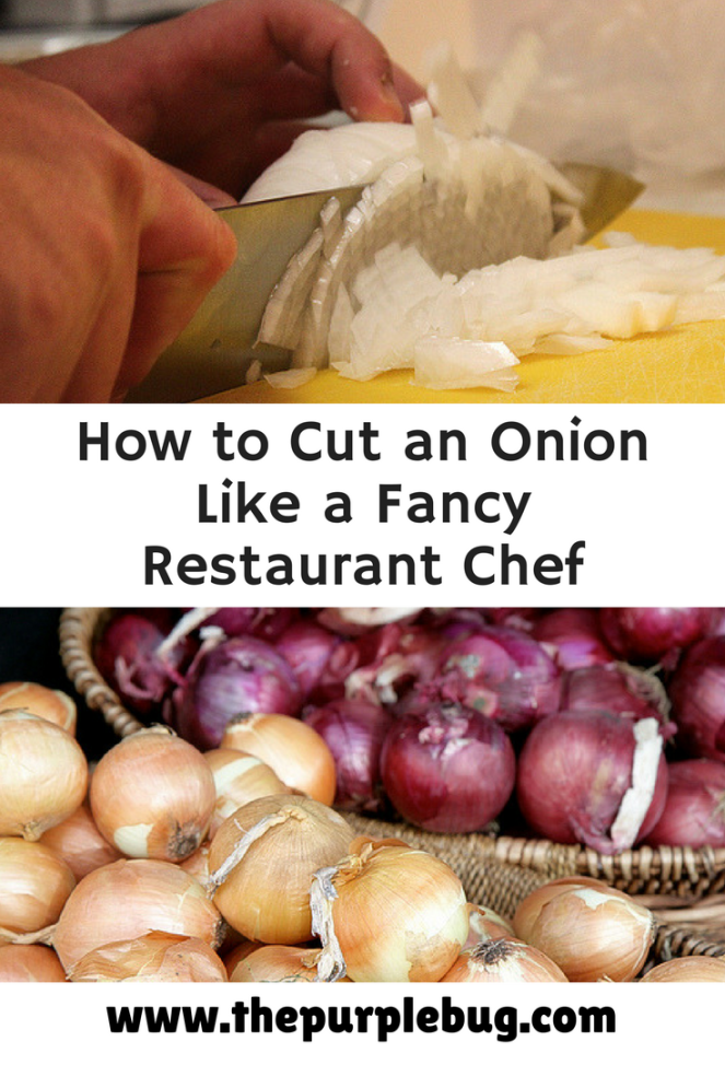 How to cut an onion like a fancy restaurant chef