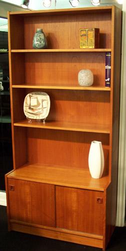 Danish Teak Bookcase Just A Modern Guy